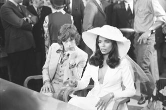 Mariage de Mick et Bianca Jagger