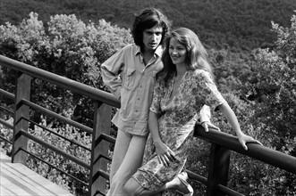 Charlotte Rampling et Jean-Michel Jarre, 1977