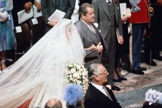 Mariage du Prince Charles de Galles et de Lady Diana Spencer