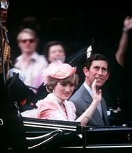 Mariage du Prince Charles et de la Princesse Diana, 1981
