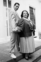 Freddie Mercury et Montserrat Caballé