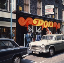 Carnaby Street, Londres, en 1968