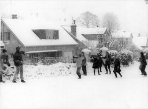 Big Freeze - Hiver 1962-1963. Royaume-Uni