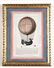 Nouveau globe aérostatique inventé par MM. Charles et Robert