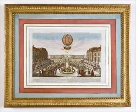 Expérience aérostatique le 1er décembre 1783