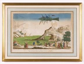 Poisson aérostatique enlevé à Plazentia le 10 mars 1784