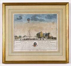 Aérostat Le Suffren à Nantes, le 14 juin 1784