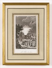La Folie du Jour au parc Monceau, fête donnée le 11 octobre 1797
