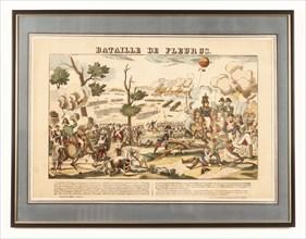 """Le Ballon d'observation militaire """"L'Entreprenant"""" à la bataille de Fleurus le 26 juin 1794"""