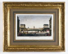 Entrée de Louis XVIII Paris en mai 1814