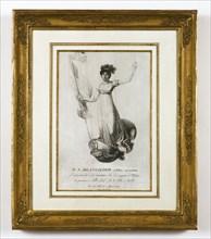 Ascension de Mme Blanchard à Milan le 15 août 1811