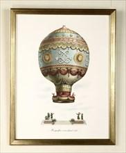 Montgolfière à air chaud de 1783
