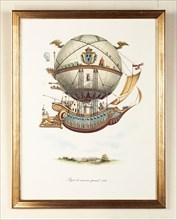 Projet de vaisseau spatial en 1784