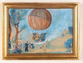 Voyage de Charles et Robert le 1er décembre 1783 : arrivée à Nesle la vallée