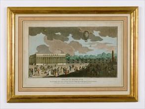 Fête du 14 juillet 1801 au carré des Champs-Elysées