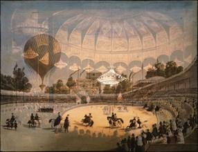 Hippodrome-cirque de Paris, vue stéréoscopique