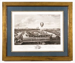 Mr Blanchard's fourteenth aerostatic experiment in Lille on 26th August 1785