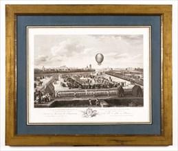 La Quatorzième expérience aérostatique de Monsieur Blanchard à Lille le 26 Août 1785