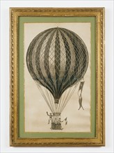 Poster of a hot-air balloon