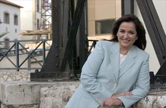 Dora Bakoyanni, femme politique grecque, juin 2004