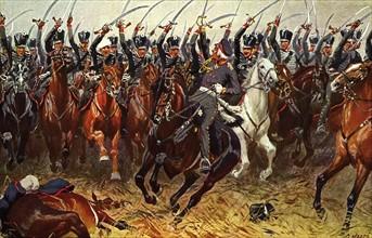 Campagne de Saxe. Bataille de Leipzig.