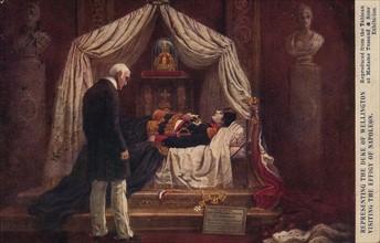 Mort de Napoléon 1er à Sainte-Hélène. 5 mai 1821
