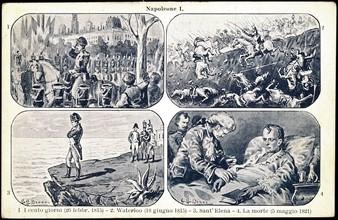 Scènes de la vie de Napoléon 1er.
