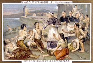 Monsieur de Belzunce et les pestiférés, publicité