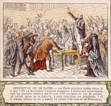 Révolution française de 1789, illustrations de la fin du XIXe siècle