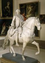 Alvarez, Modèle de la statue équestre de Charles III