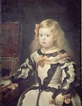Vélasquez, L'Infante Marguerite d'Autriche