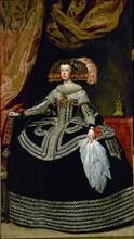 Vélasquez, La Reine Marie-Anne d'Autriche