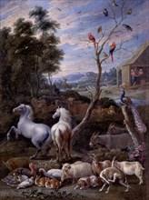Hondt, La construction de l'arche de Noé