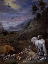 Hondt, Noé après le Déluge