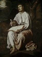 Vélasquez, Saint Jean l'Evangéliste sur l'île de Patmos