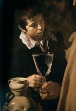 Velázquez, The water merchant of Seville (detail)