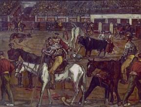 Gutierrez Solana, Course de taureaux