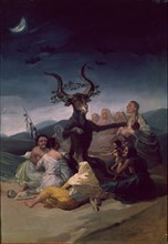 Goya, Le Sabbat des sorcières