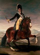 Goya, Fernand VII à cheval
