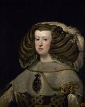 Vélasquez, La Reine Marianne d'Autriche