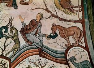 Détail de peintures romaines