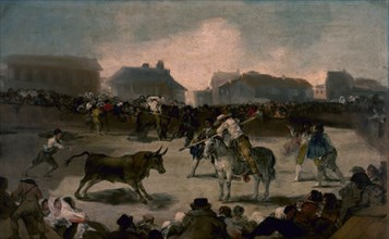 Goya, Course de taureaux