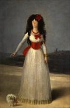 Goya, La duchesse d'Albe