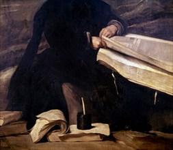 Velázquez, The Jester Don Diego de Acedo (detail)