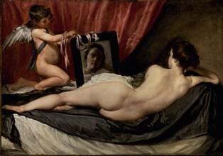 Vélasquez, La Venus du miroir