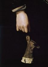 Velázquez, Portrait of the Infante Don Carlos (detail)