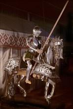 Armure sur monture de guerre de Charles V