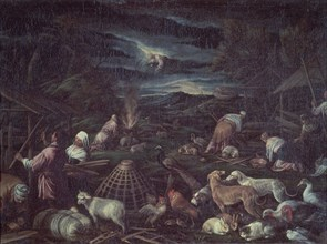 Bassano, Noé après le Déluge