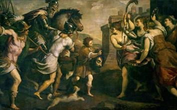 Palma le Jeune, David vainqueur de Goliath