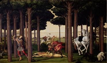 Botticelli, Histoire de Nastagio degli Onesti
